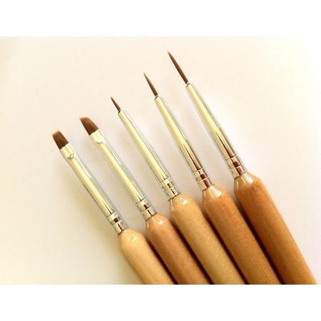 5 Brush Set