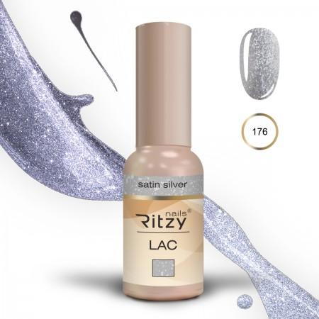 Ritzy Lac 176 Satin silver