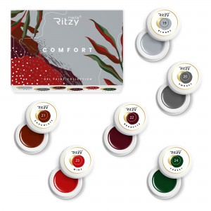 COMFORT Gel Paint Collection ( in a box)  19-24