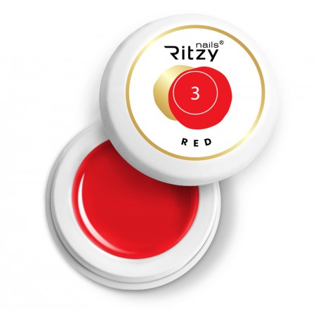 Ritzy Nails Gel Paint RED 03