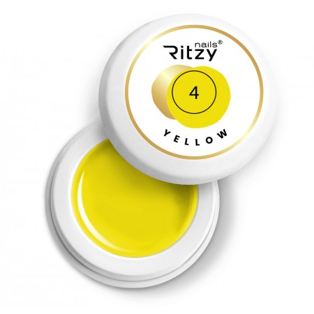 Ritzy Nails Gel Paint YELLOW 04