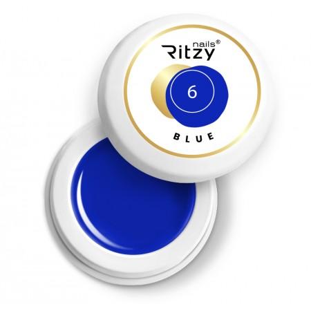 Ritzy Nails Gel Paint BLUE 06