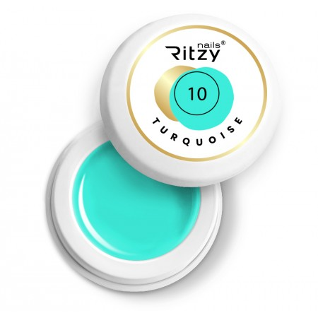 Ritzy Nails Gel Paint TURQUOISE 10