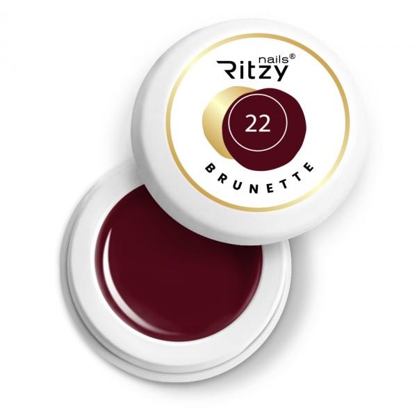 Ritzy Nails Gel Paint BRUNETTE 22
