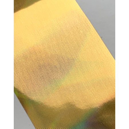Holographic Gold  Casting Foil