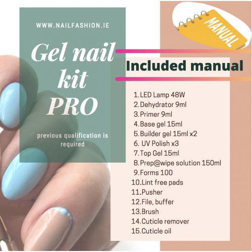Gel nail kit PRO