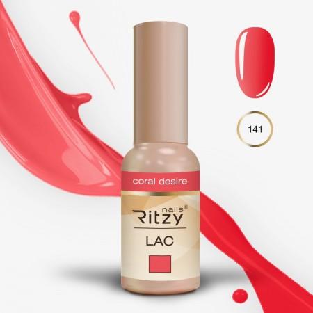 """RITZY LAC """"Coral Desire"""" 141"""
