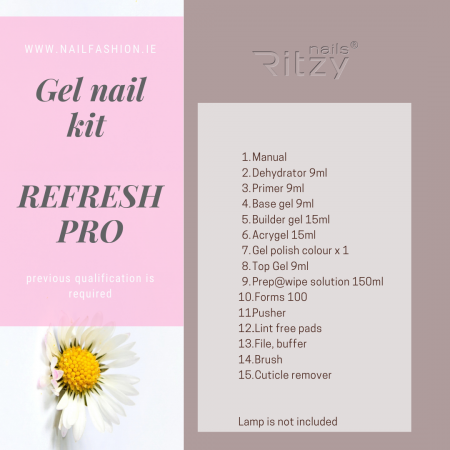 Gel/Acrygel Nail Kit REFRESH PRO