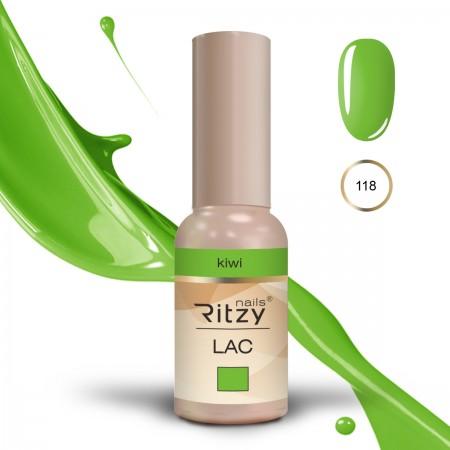 RITZY LAC Kiwi 118 Gel Polish
