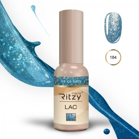 """RITZY LAC """" Ice Ice Baby"""" 184"""