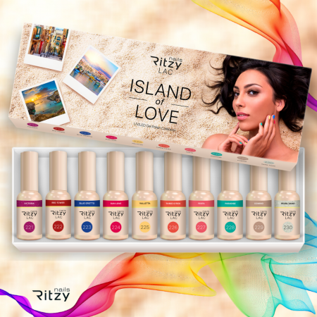 Ritzy Lac ISLAND OF LOVE collection (10 colours)
