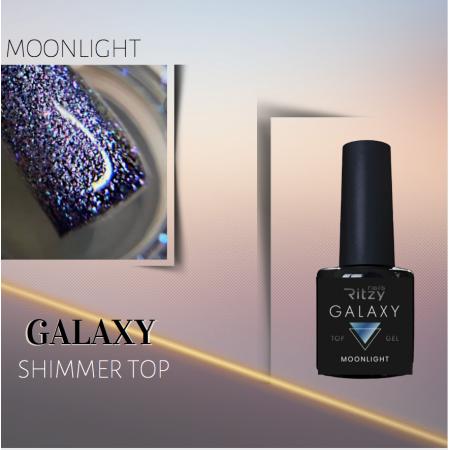 GALAXY Shimmering Top Gel MOONLIGHT