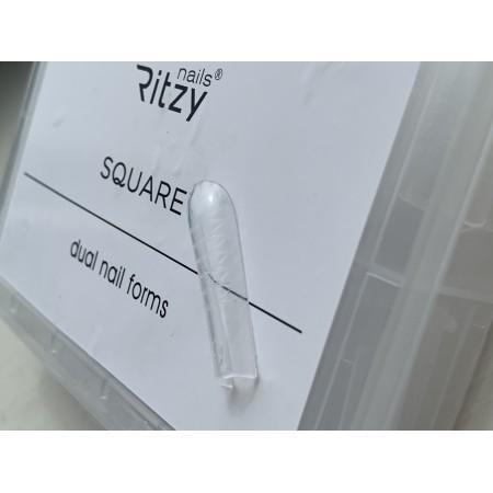 Silicone DUAL FORMS SQUARE reusable  (120pcs)