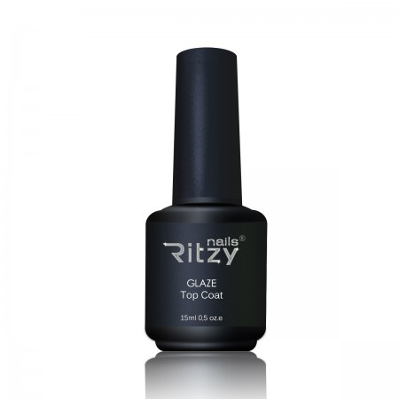 """RITZY Nails""  GLAZE Top Gel 15ml"