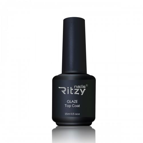 """RITZY Nails""  GLAZE Top Gel 15ml"