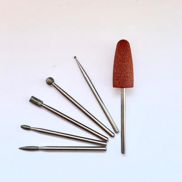 PERFECT SKIN Set of cuticle bits ( 6 pcs )