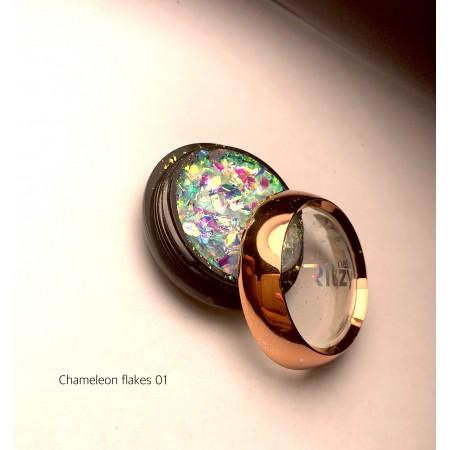 CHAMELEON (AURORA) flakes 01