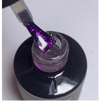 GALAXY set of 4 shimmer top gels