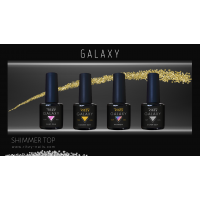 GALAXY shimmer top gel RAINBOW 8ml