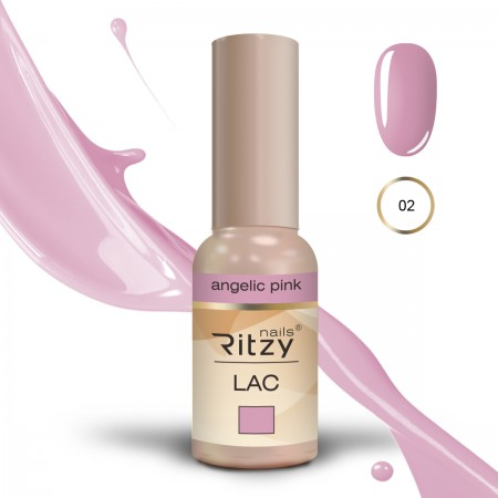 RITZY LAC Angelic pink 02 gel polish