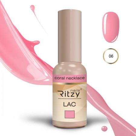 RITZY LAC Coral Neckless 06 gel polish