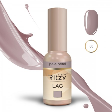 RITZY LAC Pale Petal 08 Gel Polish