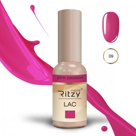 RITZY LAC Pink Passion 09 gel polish
