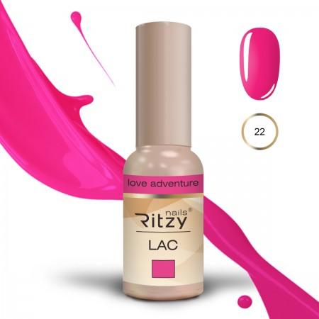 RITZY LAC Love Adventure 22 gel polish