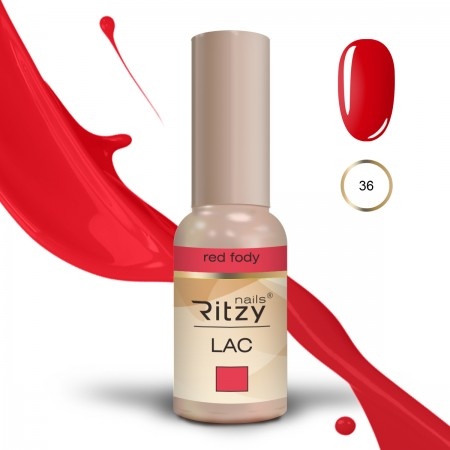 RITZY LAC Red Fody 36 Gel Polish