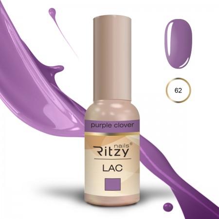 RITZY LAC Purple Clover 62 gel polish
