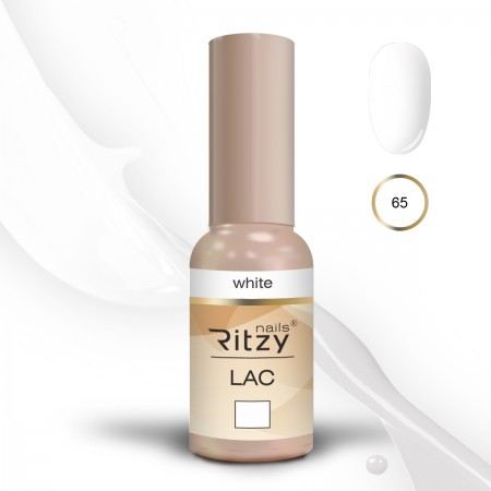 Ritzy Lac WHITE 65 Gel Polish