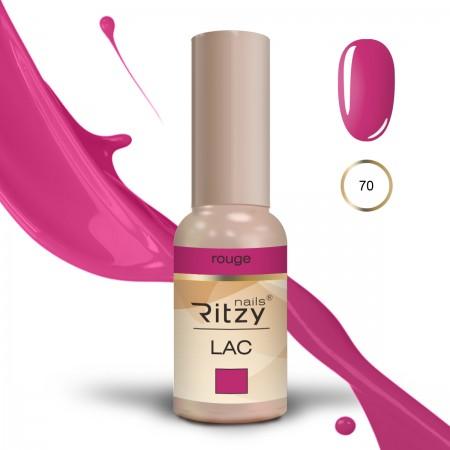 RITZY LAC Rouge 70 Gel Polish