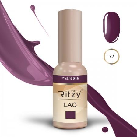 RITZY LAC Marsala 72 Gel Polish
