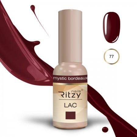 RITZY LAC Mystic Bordeaux 77 Gel Polish