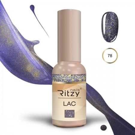 RITZY LAC Saphire Dust 78 Gel Polish