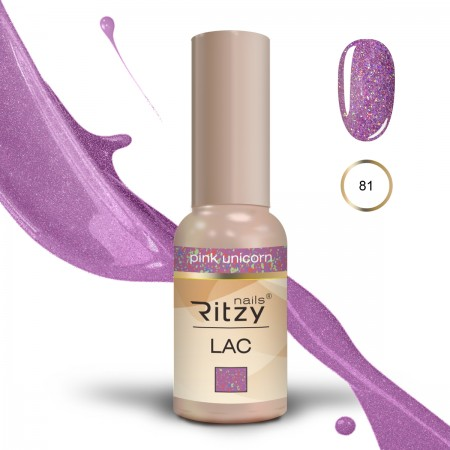 RITZY LAC Pink Unicorn 81 Gel Polish