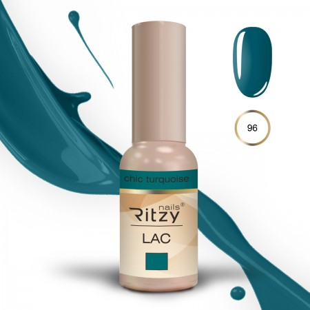 RITZY LAC  Chic Turquoise 96 Gel Polish