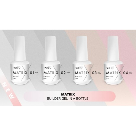MATRIX kit (4 builder gels)