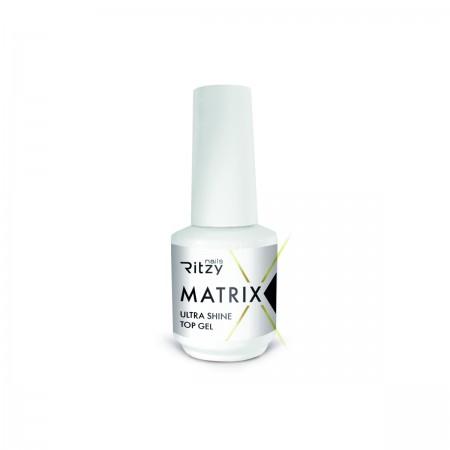 Ritzy Nails MATRIX Top Coat Gel ULTRA SHINE 15ml