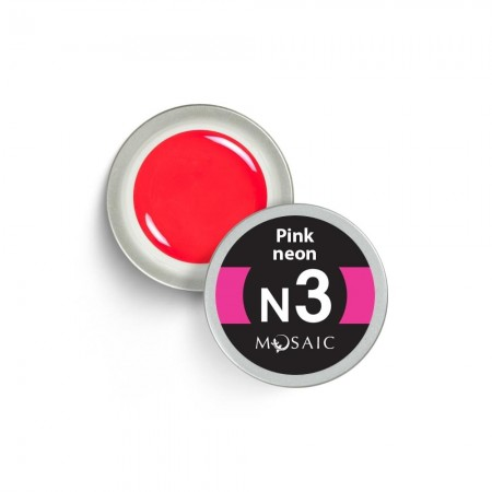 Mosaic Gel Paint NEON PINK  N3