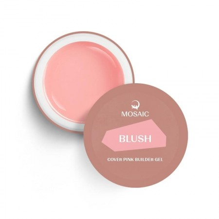 """Mosaic' BLUSH cover pink gel 50"