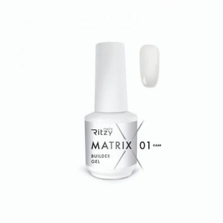 MATRIX builder gel in a bottle CLEAR 01