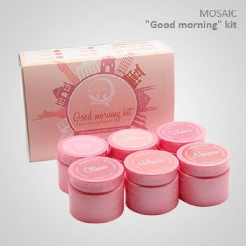 """""""Good Morning"""" Easy Cover Gel Paint nude collection"""
