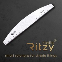 """Pack of 10 Files-""""Rulers"""" RITZY Nails 180/180"""