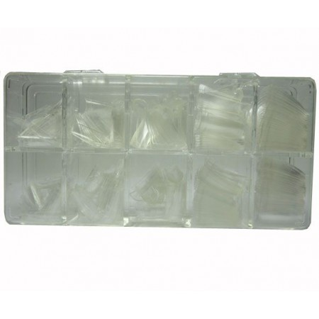 Clear tips 500pcs box