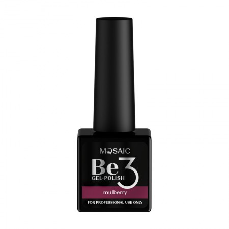 """Be3 """"Mulberry"""" One step gel polish"""