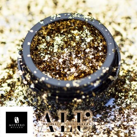ALU Flakes Gold