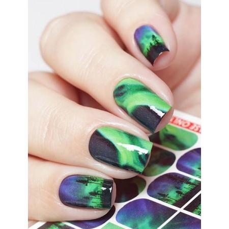 """Exquisite"" Slider Nail Art Decoration A4"