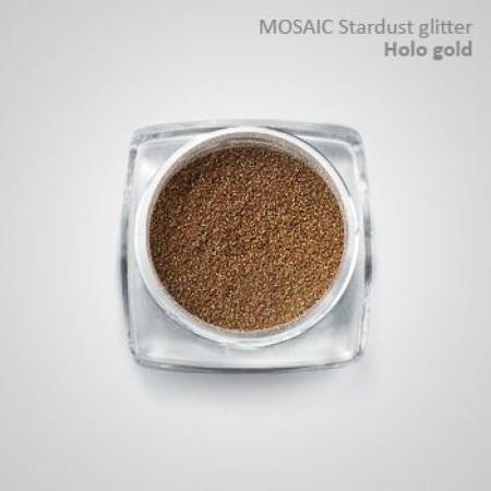 """""""Mosaic"""" Holo Stardust Glitter Hologold"""