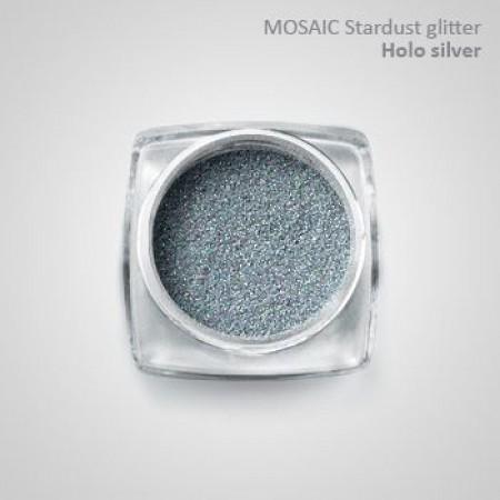 """Mosaic"" Holo Stardust Glitter HoloSilver"